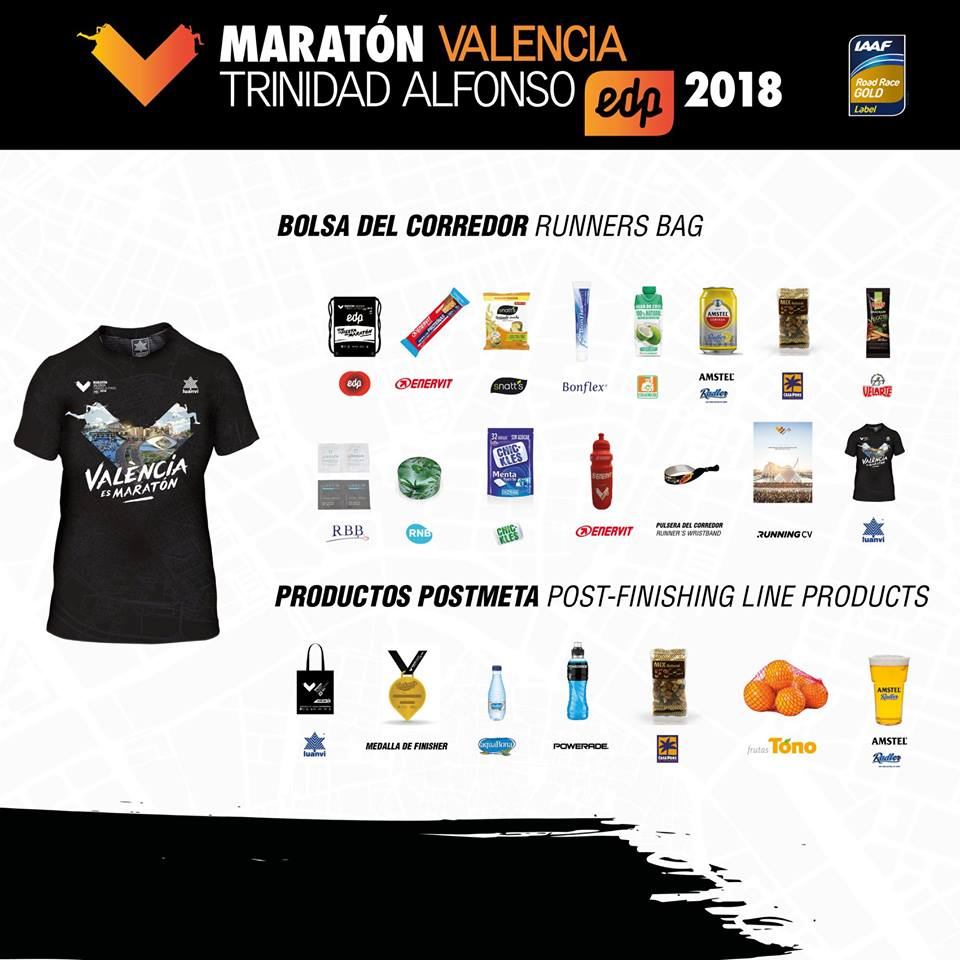 Runner bag maraton valencia